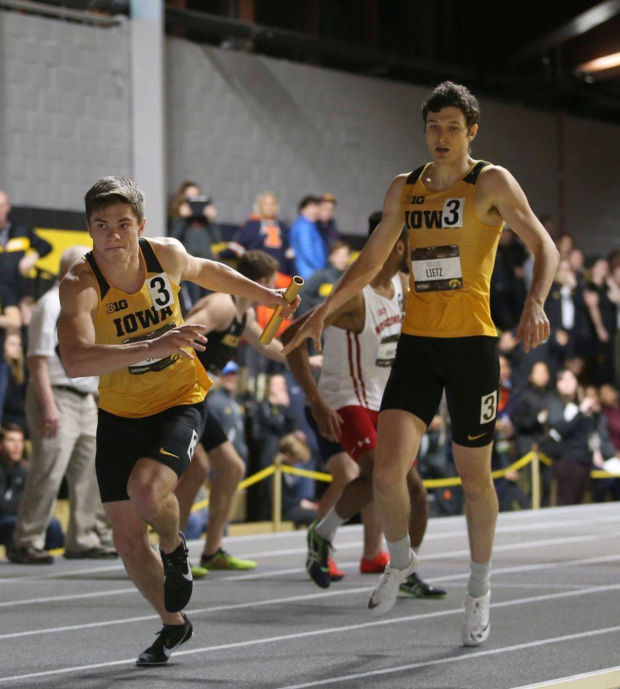 Alec Still, Austin Lietz  (Darren Miller/hawkeyesports.com)