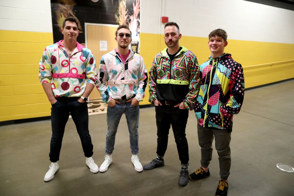 80's night against Michigan Friday, February 14, 2020 at Carver-Hawkeye Arena. (Brian Ray/hawkeyesports.com)