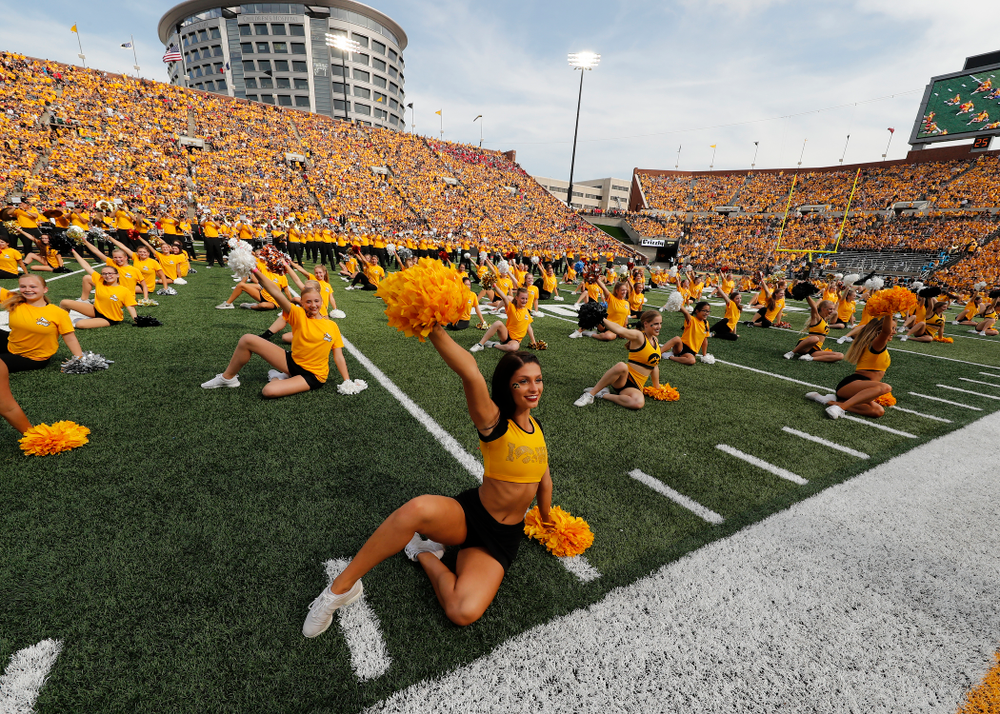 Spirit Squad Day against the Norther Illinois Huskies  Saturday, September 1, 2018 . (Brian Ray/hawkeyesports.com)