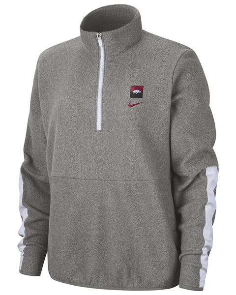 Destructivo adjetivo Soltero  Arkansas Razorbacks Nike Therma Fleece Half Zip Pullover - Arkansas  Razorbacks Store - Shop University of Arkansas Apparel, Gear, Gifts,  Clothing