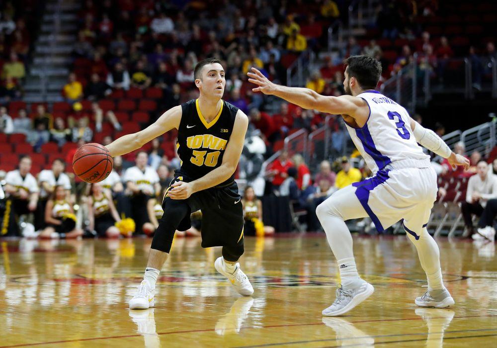 Iowa Hawkeyes guard Connor McCaffery (30)