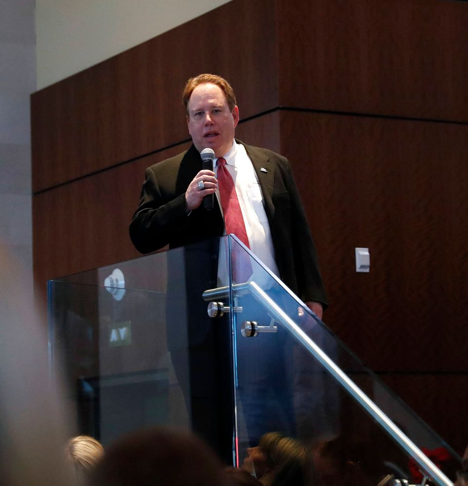 Mark Holtzman --  President's Welcome Reception at Yankees Steakhouse