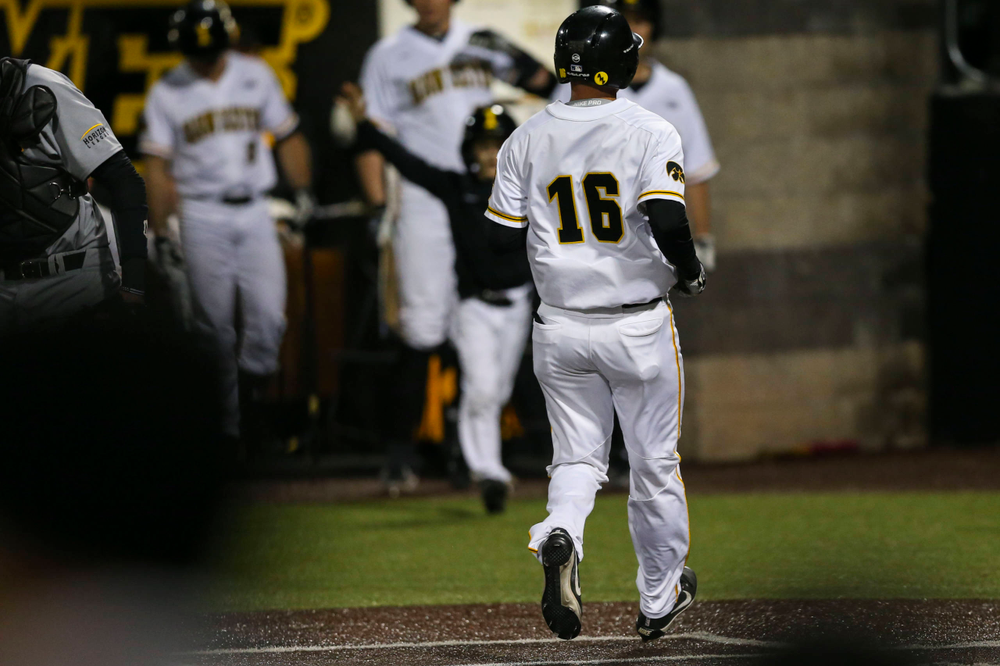 Iowa infielder Tanner Wetrich  at baseball vs Milwaukee on Tuesday, April 23, 2019 at Duane Banks Field. (Lily Smith/hawkeyesports.com)