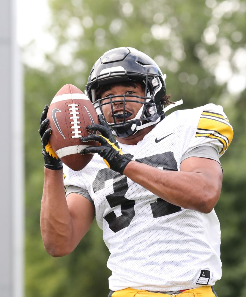 Iowa Hawkeyes defensive back Kyler Fisher (37)
