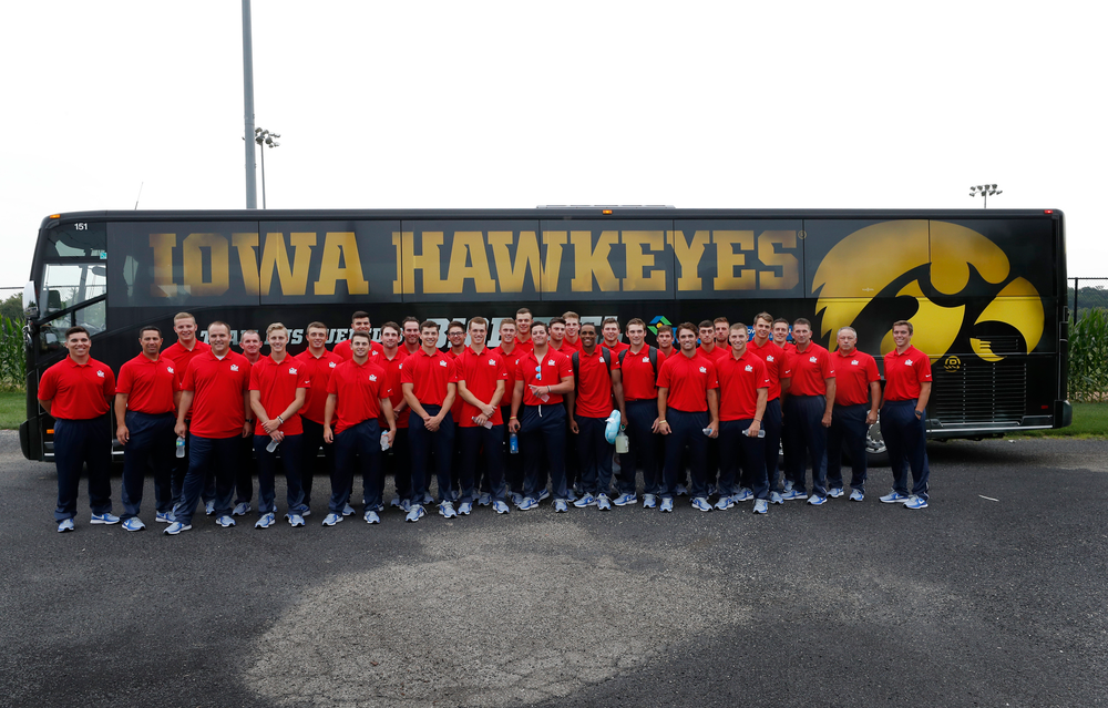USA Team departing Iowa City