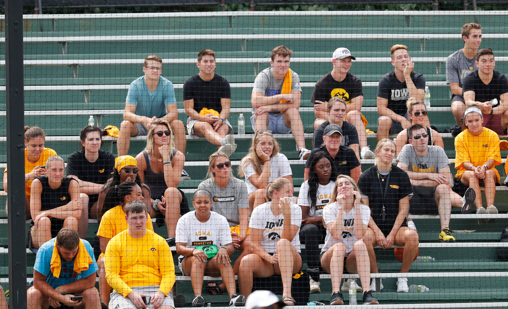 The Iowa Student Athlete Kickoff Kickball game  Sunday, August 19, 2018 at Duane Banks Field. (Brian Ray/hawkeyesports.com)