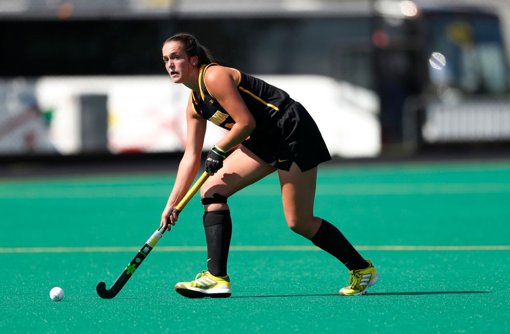 Iowa Hawkeyes Anthe Nijziel (6) against the Penn Quakers Friday, September 14, 2018 at Grant Field. (Brian Ray/hawkeyesports.com)