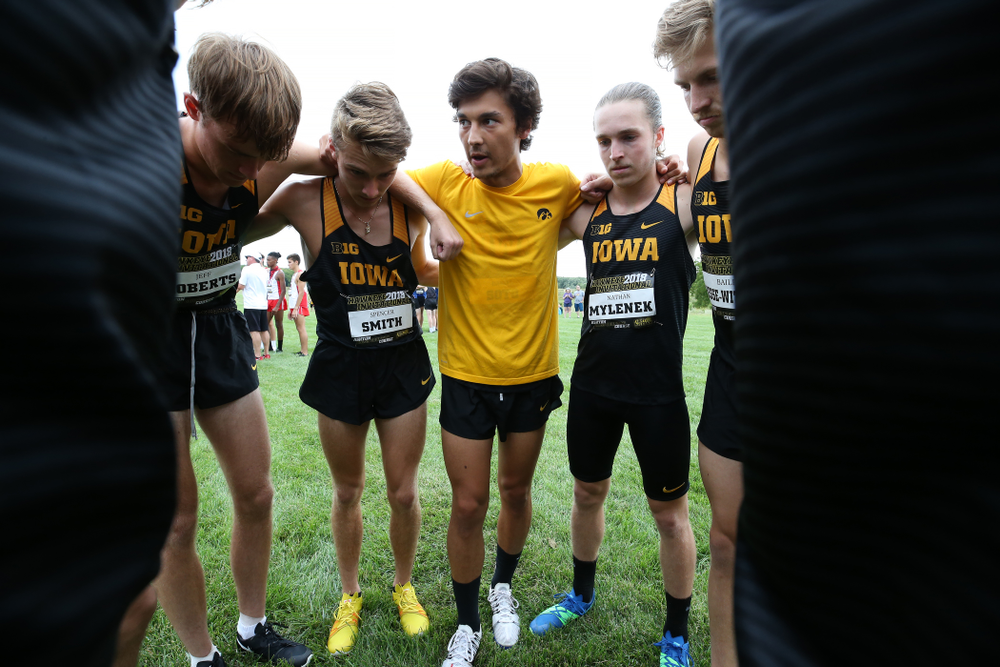 Daniel Soto during the Hawkeye Invitational Friday, August 31, 2018 at the Ashton Cross Country Course.  (Brian Ray/hawkeyesports.com)