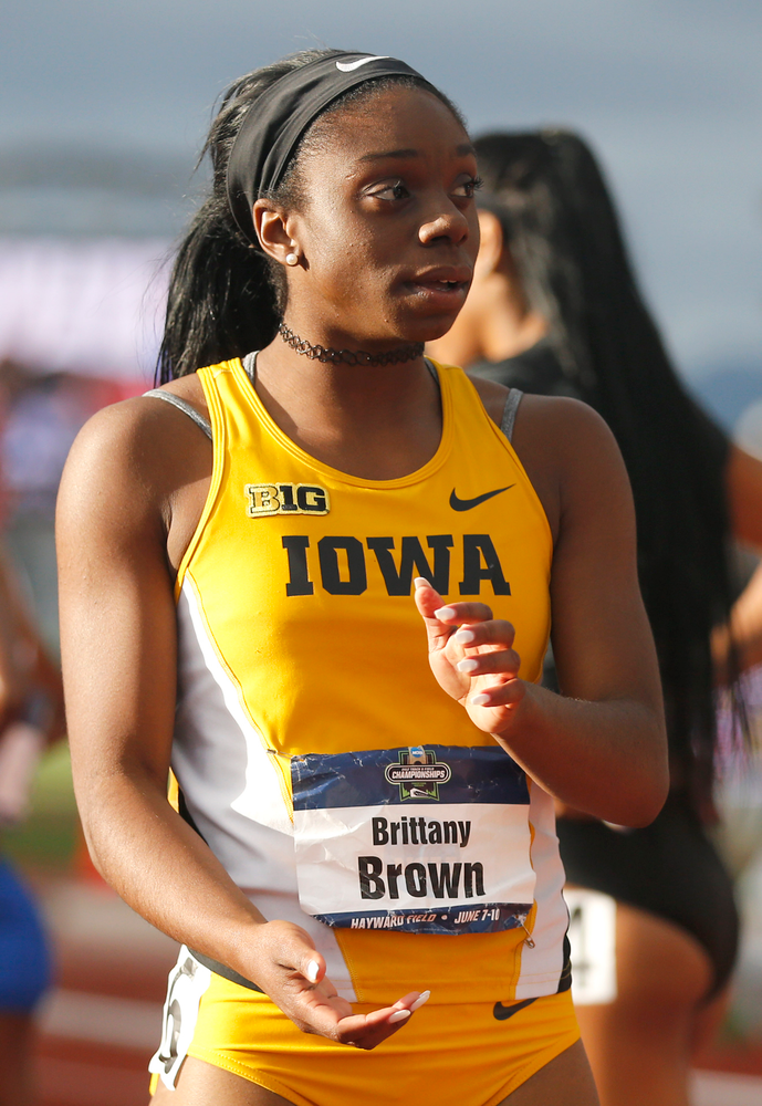 Brittany Brown -- 200-Meter Dash