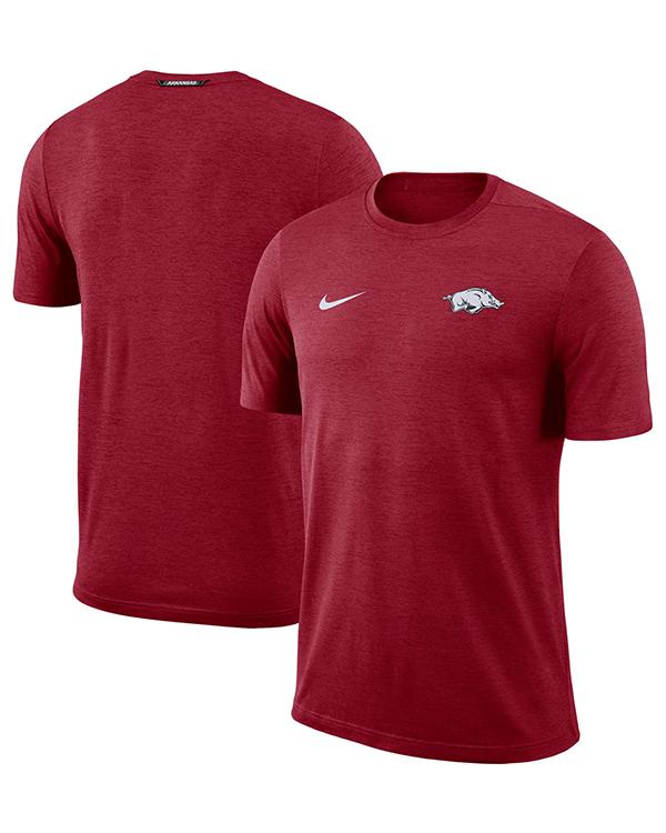 Arkansas Razorbacks Nike Football Coach T Shirt Arkansas Razorbacks Store Shop University Of Arkansas Apparel Gear Gifts Clothing