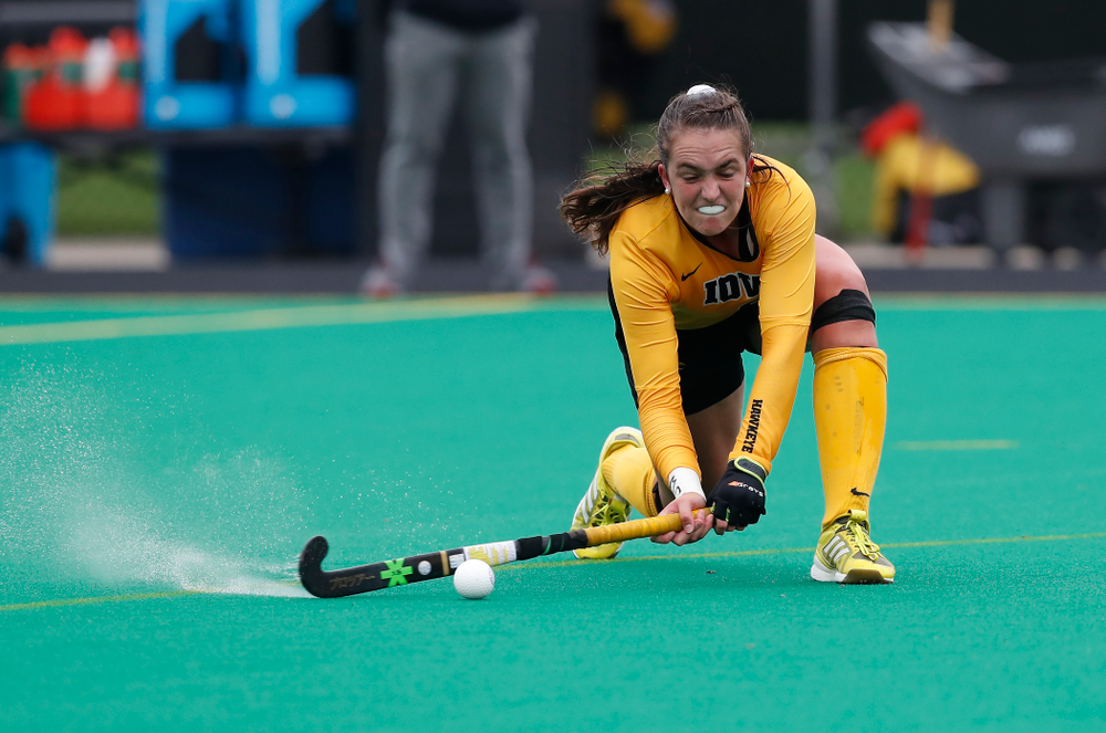 Iowa Hawkeyes Anthe Nijziel (6) against Maryland Sunday, October 14, 2018 at Grant Field. (Brian Ray/hawkeyesports.com)