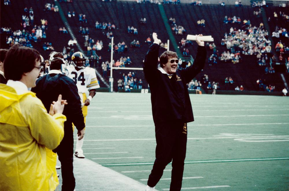 Historic Photos of Hayden Fry