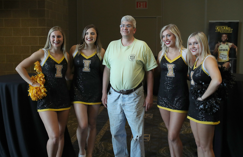 Hawkeye Fan Event at the Quad-Cities Waterfront Convention Center in Bettendorf, Iowa, on May 15, 2019.