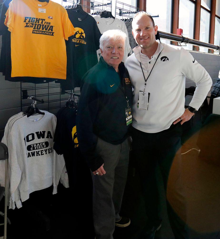 Larry Wieczorek, Joey Woody (Darren Miller/hawkeyesports.com)