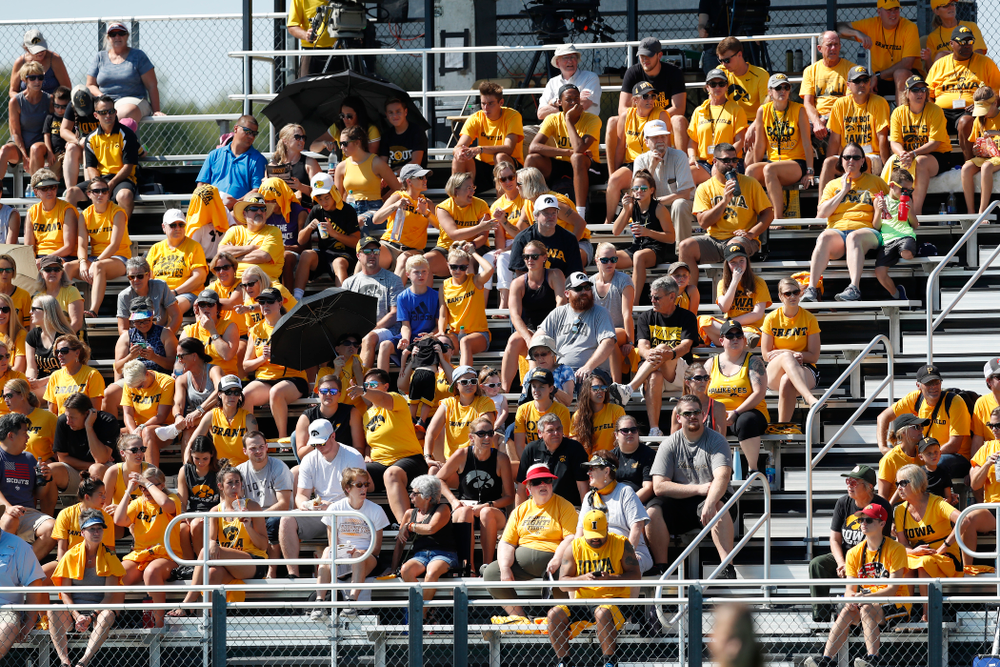 Fans of the Iowa Hawkeyes against Indiana Sunday, September 16, 2018 at Grant Field. (Brian Ray/hawkeyesports.com)
