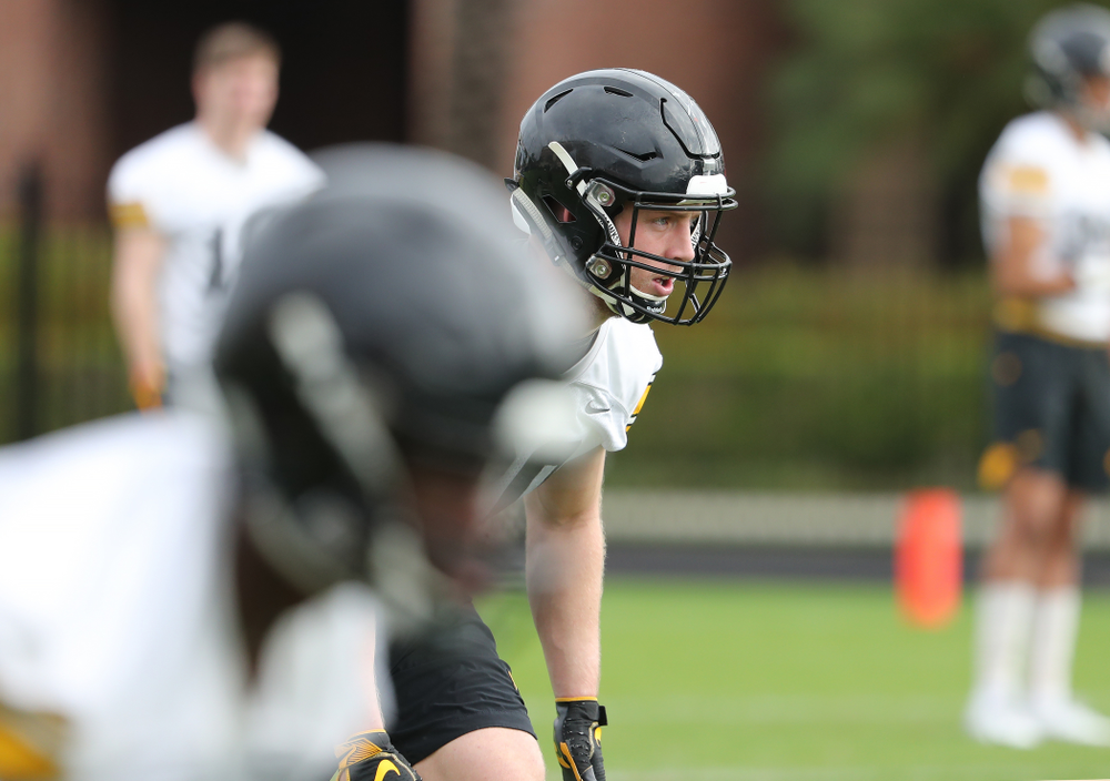 Iowa Hawkeyes defensive back Jake Gervase (30) during practice for the 2019 Outback Bowl Friday, December 28, 2018 at the University of Tampa. (Brian Ray/hawkeyesports.com)