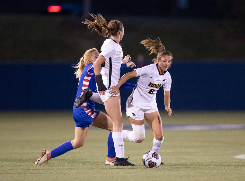 Isabella Blackman NCAA Tournament Iowa at Kansas Nov. 16, 2019
