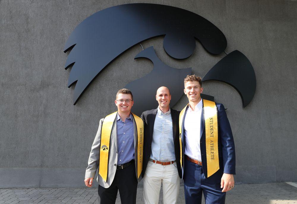 The 2019 Iowa Athletics Graduation Reception and I Ring Ceremony Friday, May 10, 2019 at Carver-Hawkeye Arena. (Brian Ray/hawkeyesports.com)