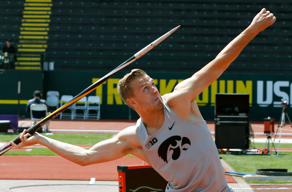 William Dougherty, Dec javelin