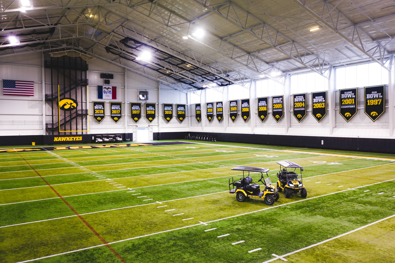 Indoor Practice Facility University Of Iowa Athletics