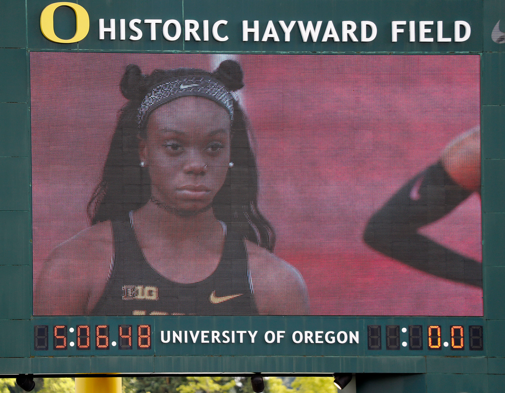 Brittany Brown -- 200-meter dash final