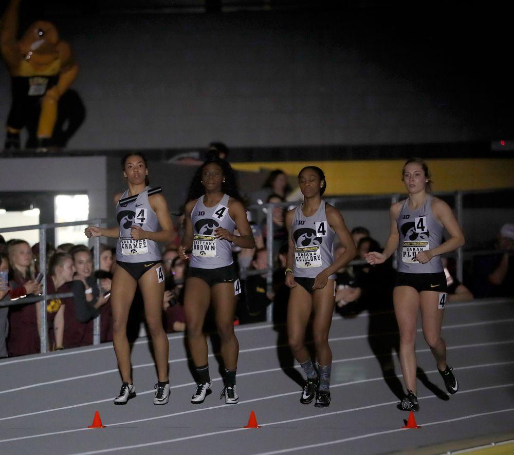 Women's 4x400-meter relay