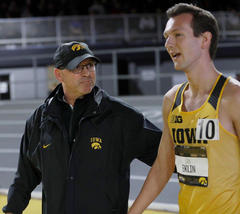 Randy Hasenbank   -- Larry Wieczorek Invitational on Jan. 19, 2019, at the University of Iowa Recreation Building in Iowa City, Iowa. (Darren Miller/hawkeyesports.com)