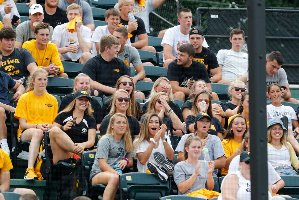The Iowa Field Hockey Team during the Iowa Student Athlete Kickoff Kickball game  Sunday, August 19, 2018 at Duane Banks Field. (Brian Ray/hawkeyesports.com)