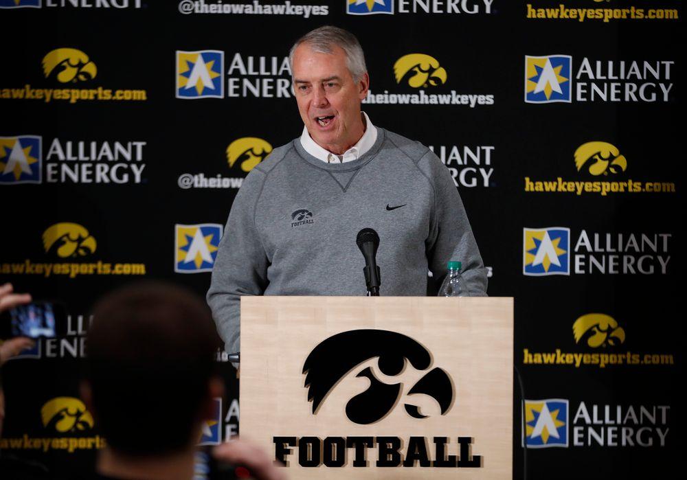 University of Iowa Athletics Director Gary Barta