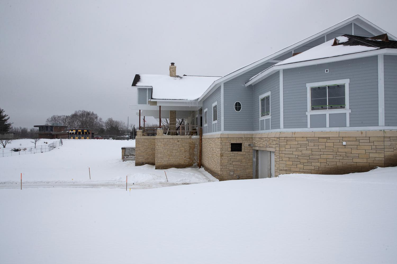 Nagle Family Clubhouse Construction University Of Iowa Athletics