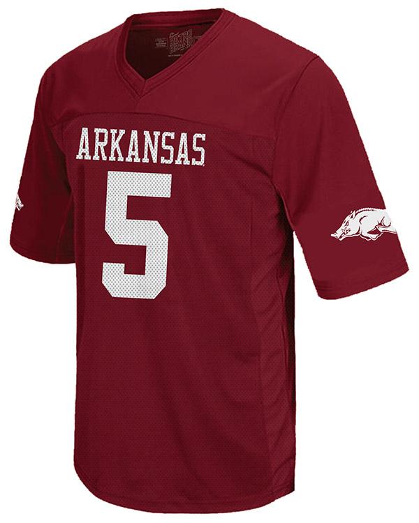 Official Arkansas Razorbacks Team Store   Football Jersey 5 ...