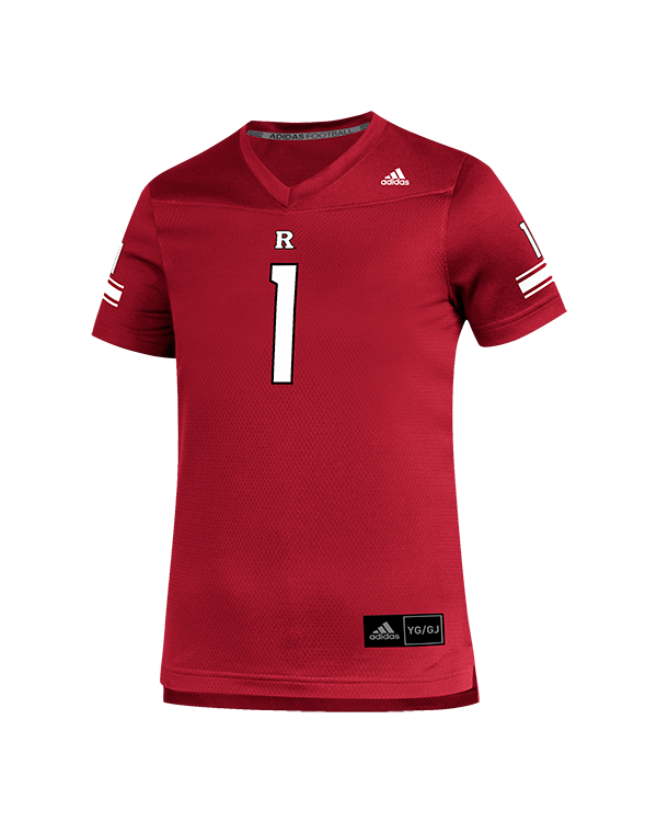 Rutgers Scarlet Knights Adidas Sideline Youth Replica Jersey Rutgers Apparel Rutgers University Gear Rutgers Merchandise Rutgers Clothing Official Rutgers Team Shop
