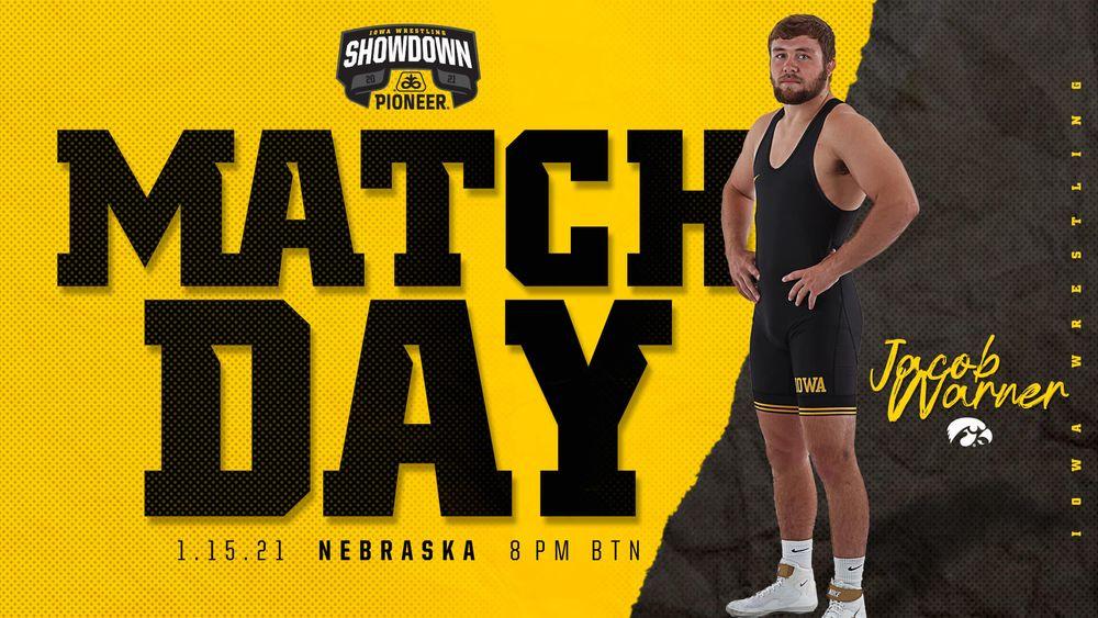 Iowa Wrestling vs Nebraska, January 15 at 8pm on Big Ten Network