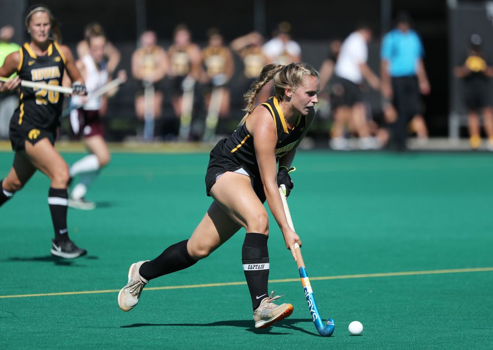 Iowa Hawkeyes Katie Birch (11) against Central Michigan Friday, September 6, 2019 at Grant Field. The Hawkeyes won the game 11-0. (Brian Ray/hawkeyesports.com)