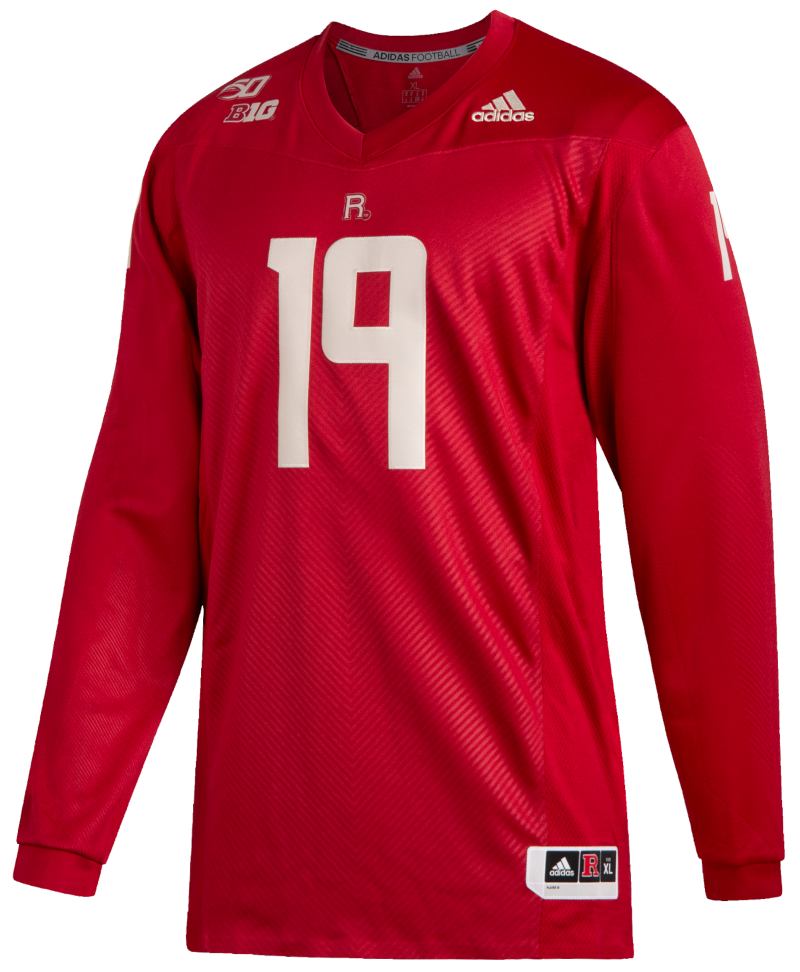 Official Rutgers Online Store | Adidas Rutgers 150 Strategy Jersey ...