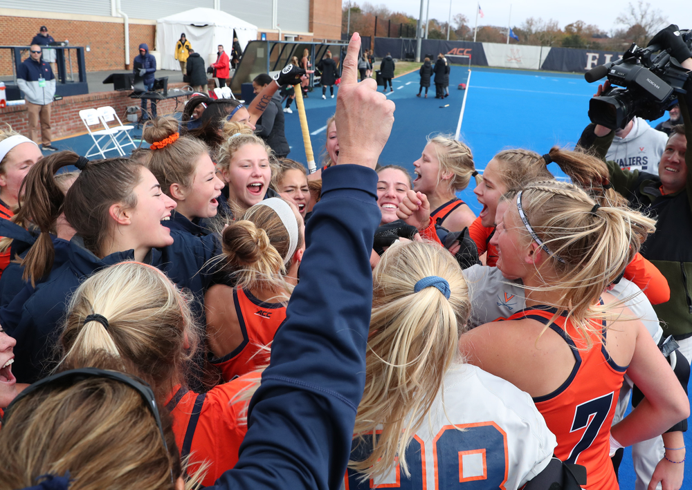UVA Field Hockey NCAA Quarterfinal vs. Maryland