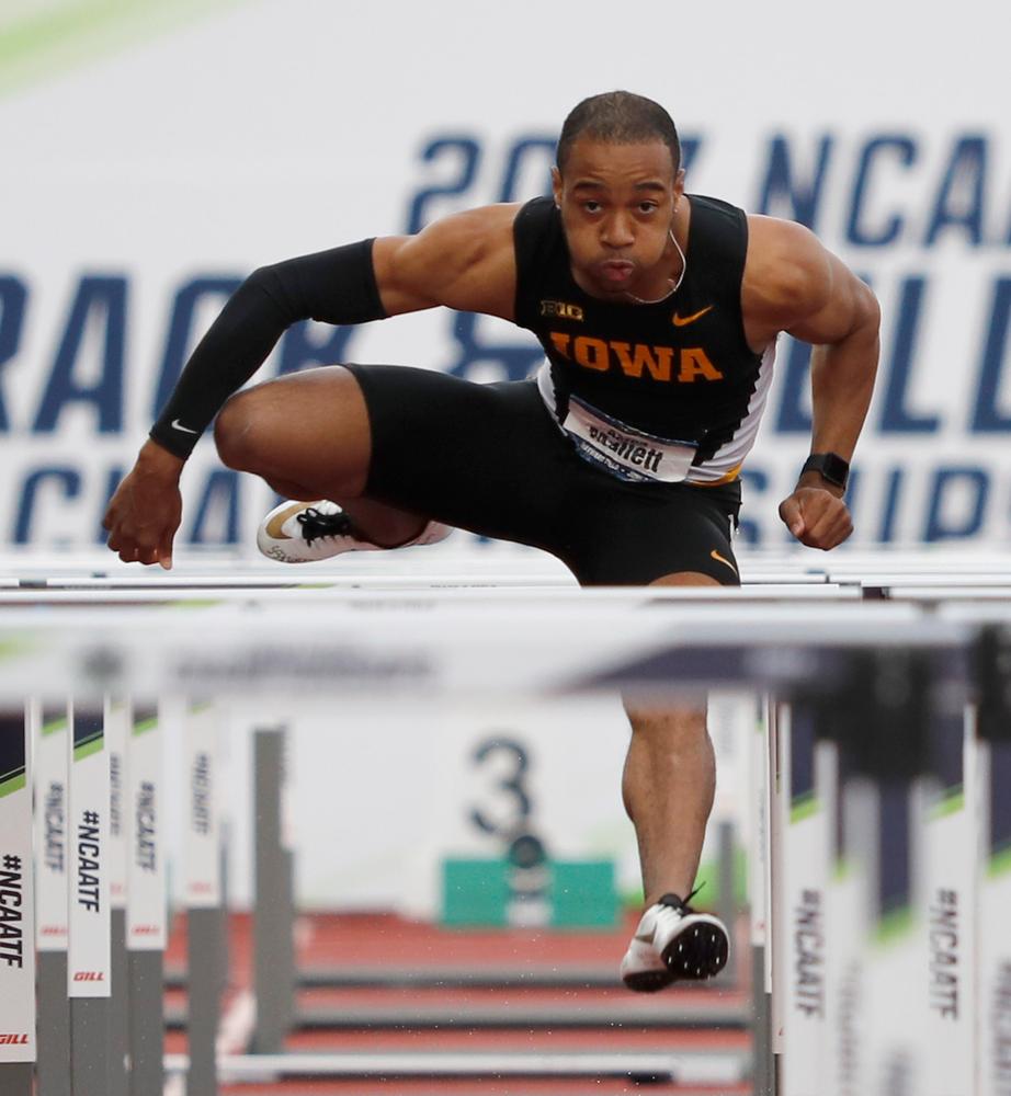 Aaron Mallett -- 110 hurdles