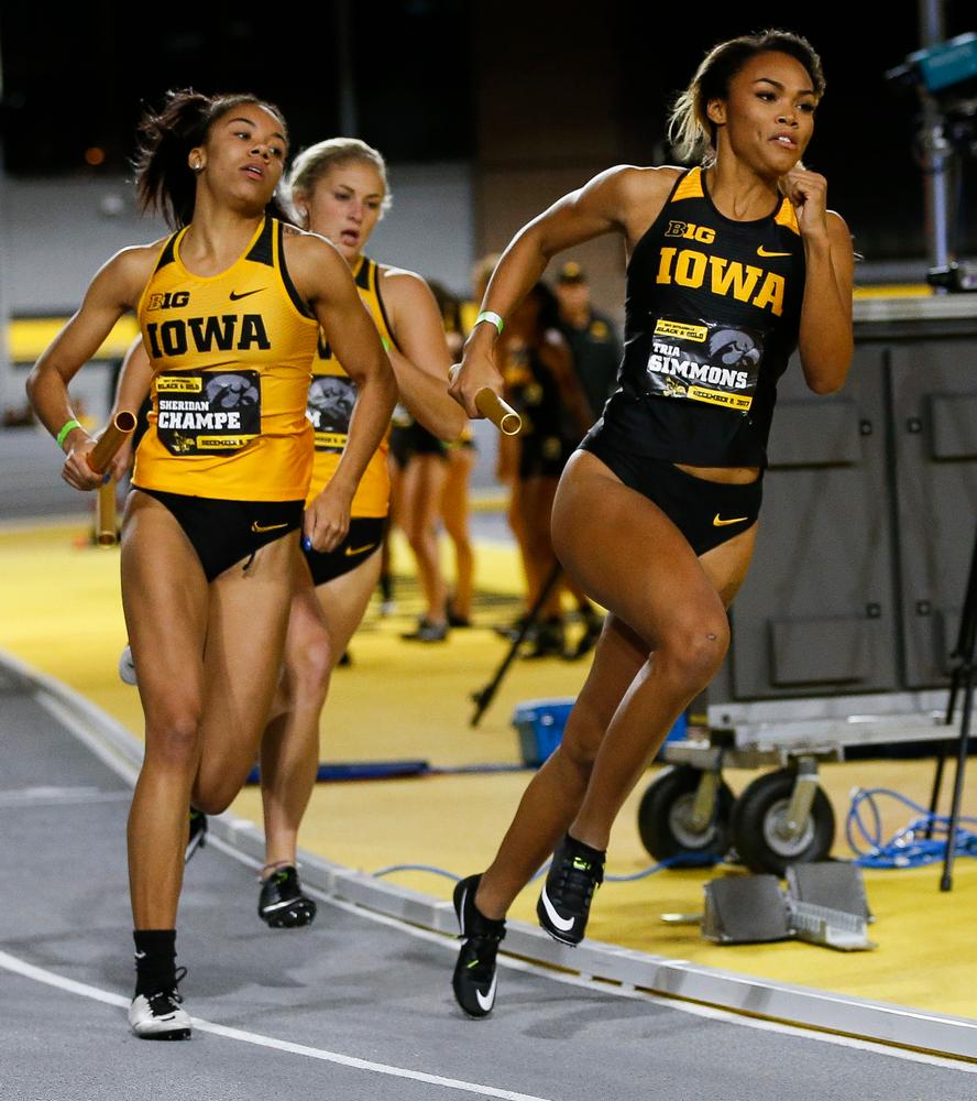 Iowa's Tria Simmons