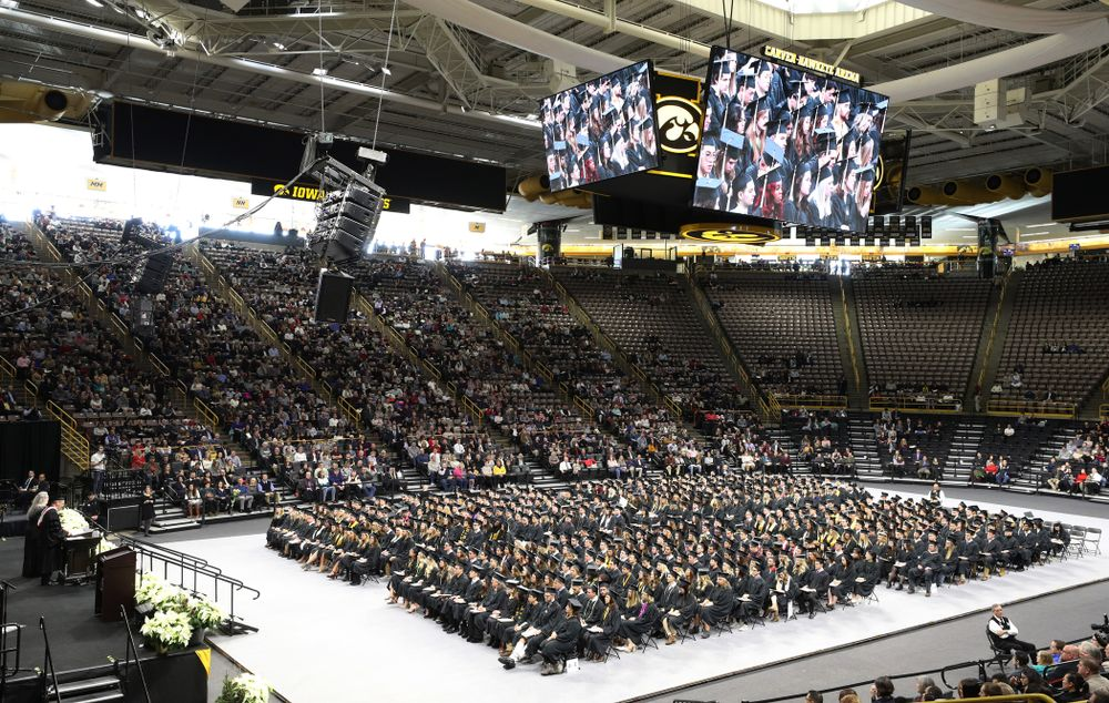 The Fall Commencement Ceremony  Saturday, December 15, 2018 at Carver-Hawkeye Arena. (Brian Ray/hawkeyesports.com)