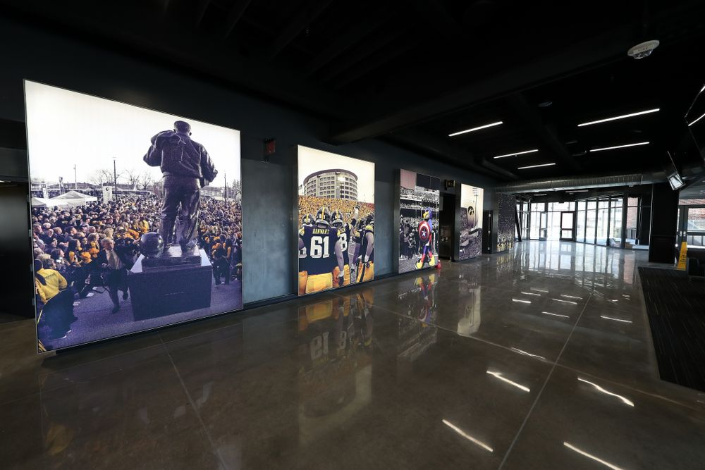 The Ted Pacha Family Club in the new north end zone of Kinnick Stadium Friday, August 9, 2019. (Brian Ray/hawkeyesports.com)