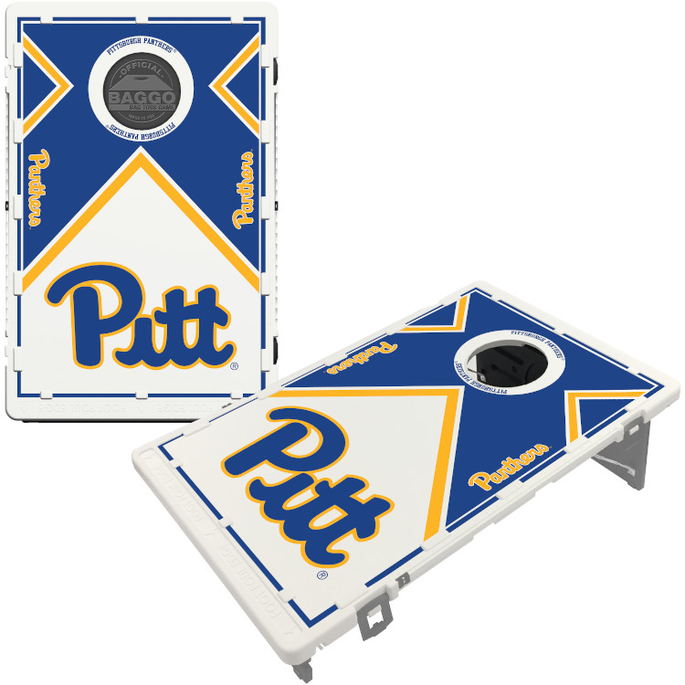 Pittsburgh Panthers Victory Tailgate Baggo Bean Bag Toss Cornhole Game Vintage Design Pittsburgh Panthers