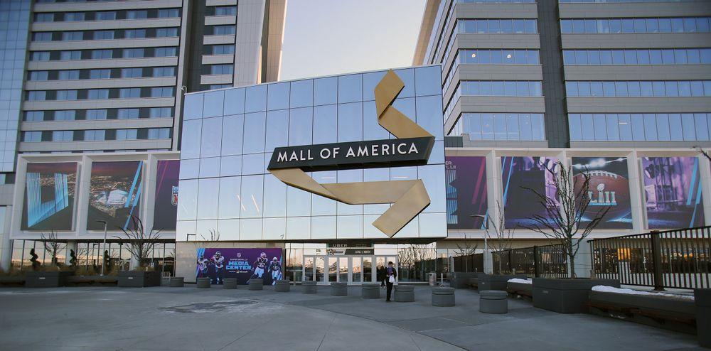 Super Bowl LII Media Center in the Mall of Amercia