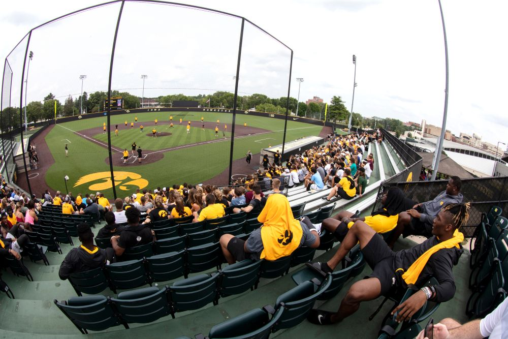 The Iowa Student Athlete Kickoff Kickball game  Sunday, August 19, 2018 at Duane Banks Field. (Brian Ray/hawkeyesports.com)