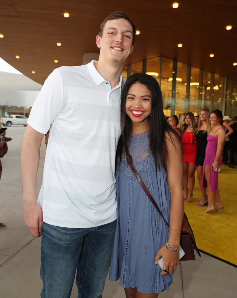 The 2019 Golden Herkys yellow carpet  Tuesday, April 23, 2019 at Hancher Auditorium. (Brian Ray/hawkeyesports.com)