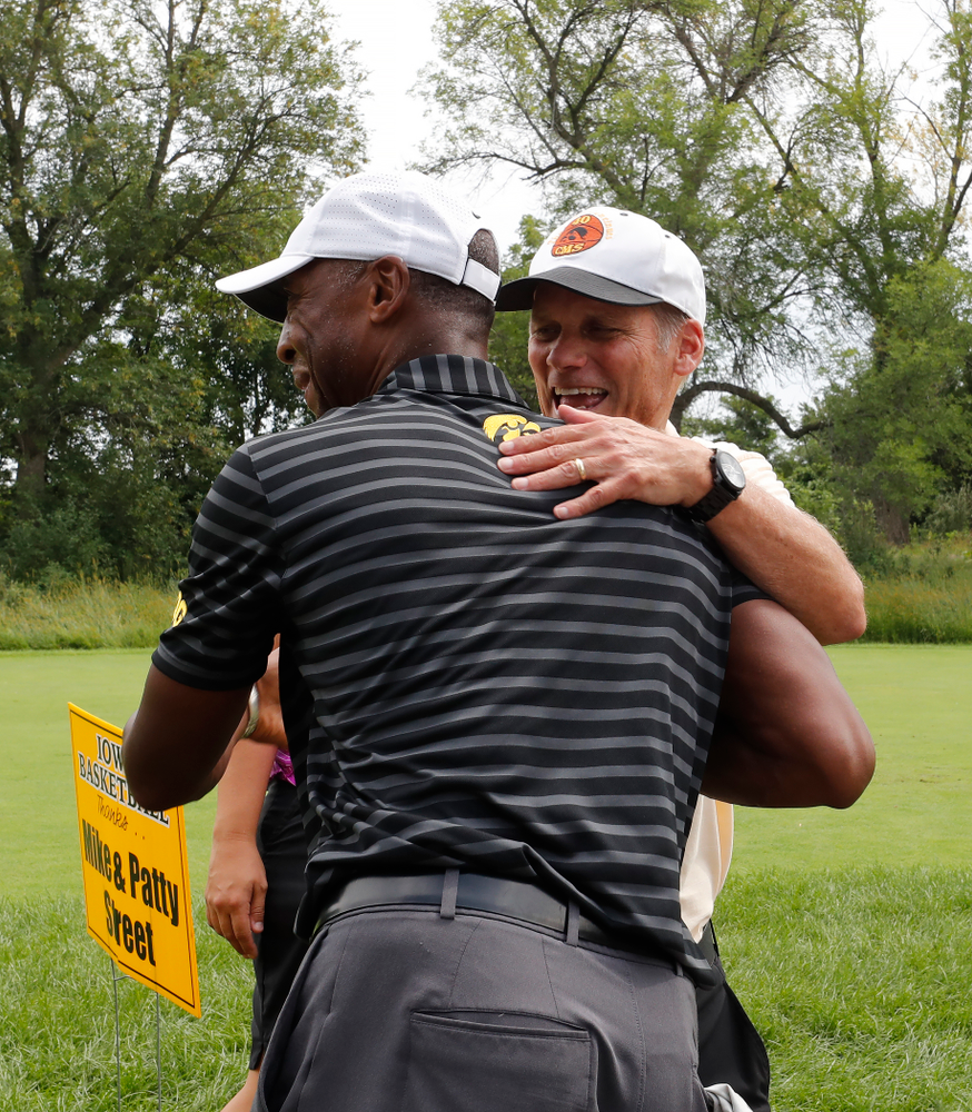 Gary Close and Sherman Dillard The 2018 Chris Street Memorial Golf Outing Monday, August 27, 2018 at Finkbine Golf Course. (Brian Ray/hawkeyesports.com)
