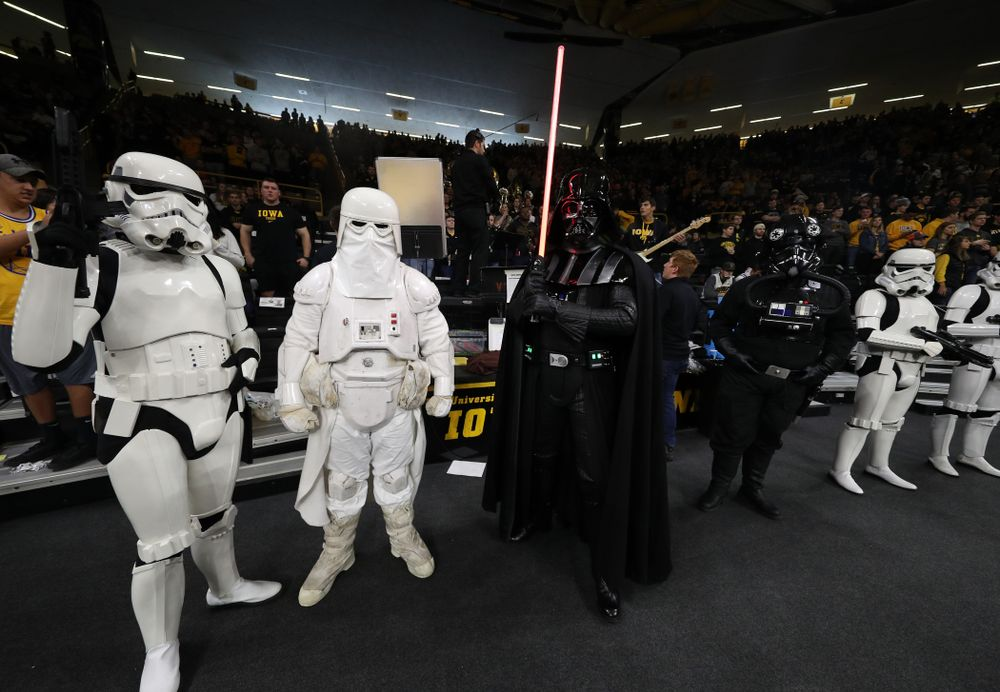 Star Wars Day against the Ohio State Buckeyes Saturday, January 12, 2019 at Carver-Hawkeye Arena. (Brian Ray/hawkeyesports.com)