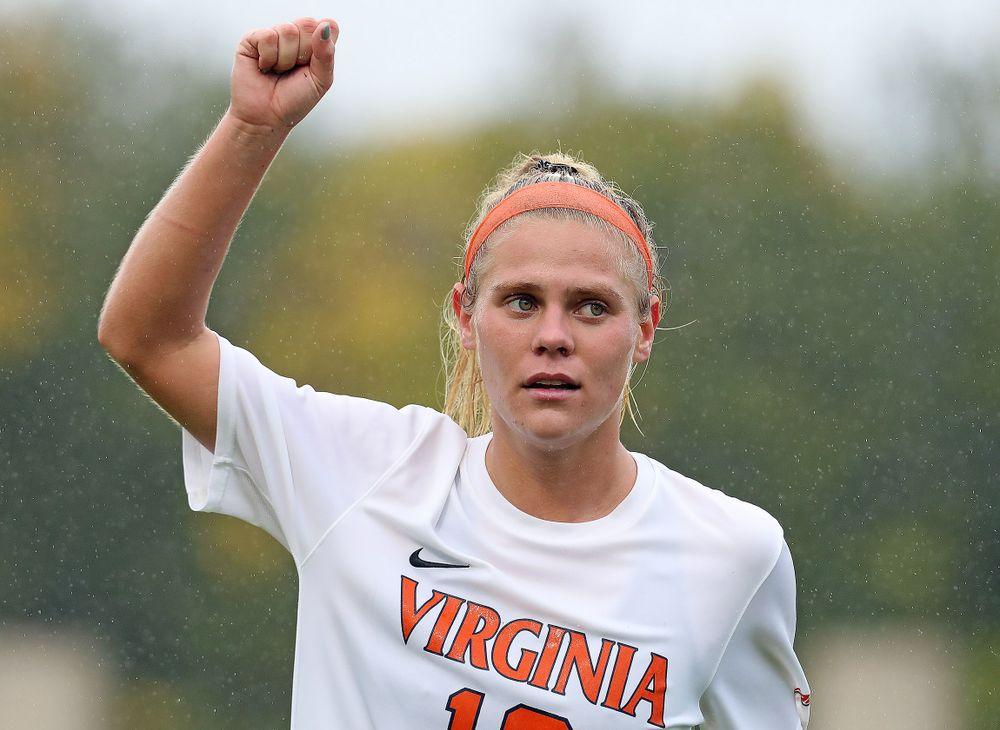UVA Women's Soccer  top vs. Notre Dame 3-0 on Senior Day