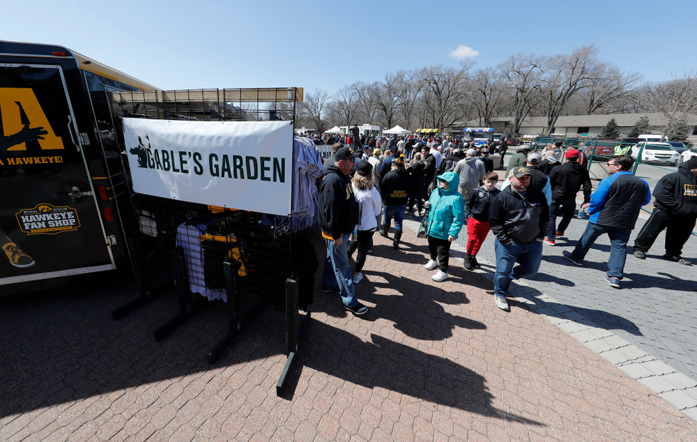 Gable's Garden during the United World Wrestling Freestyle World Cup Saturday, April 7, 2018 outside of Carver-Hawkeye Arena. (Brian Ray/hawkeyesports.com)