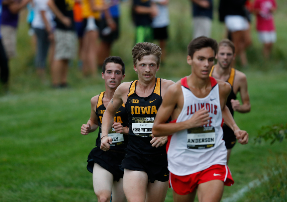 Bailey Hesse-Withbroe during the Hawkeye Invitational Friday, August 31, 2018 at the Ashton Cross Country Course.  (Brian Ray/hawkeyesports.com)