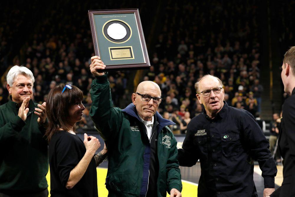 Mike Duroe is presented a Lifetime Achievement award